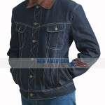 Agent Tequila Kingsman The Golden Circle Blue Jacket