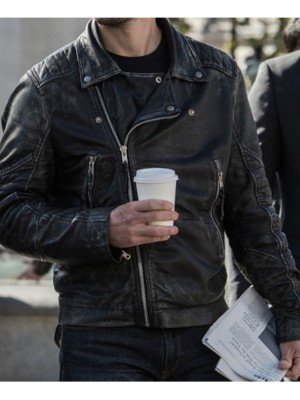 Taylor kitsch Black Jacket