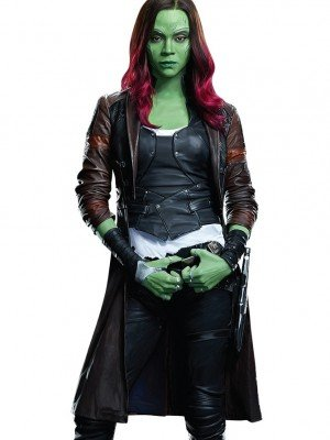 Guardians of the Galaxy 2 Gamora Coat