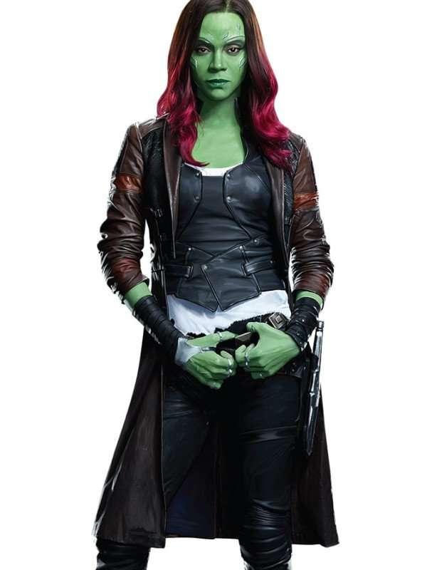 Galaxy 2 Gamora coat