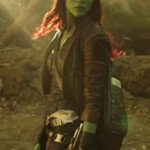 Gamora Leather Coat from Guardians of the Galaxy Vol. 2