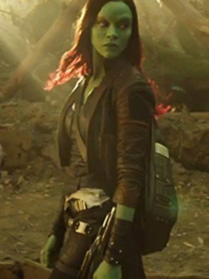 Galaxy 2 Gamora coat