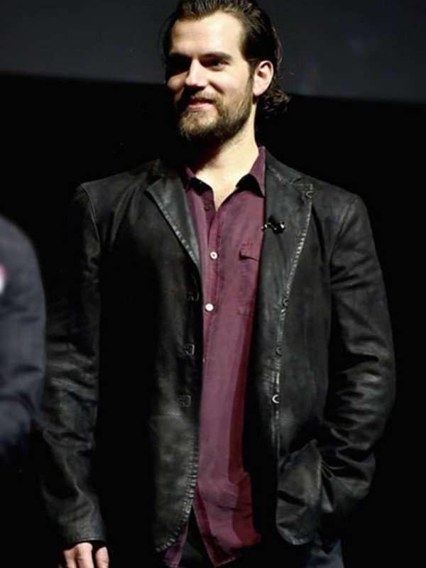 Henry Cavill Leather Jacket