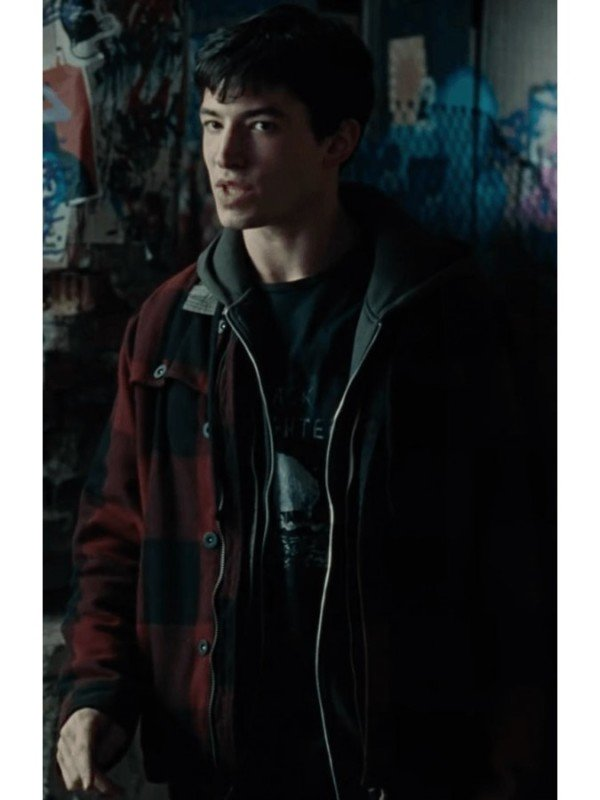 Justice League Barry Allen Red Jacket