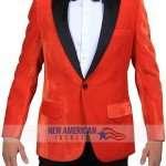 Kingsman Golden Circle Taron Egerton Orange Coat