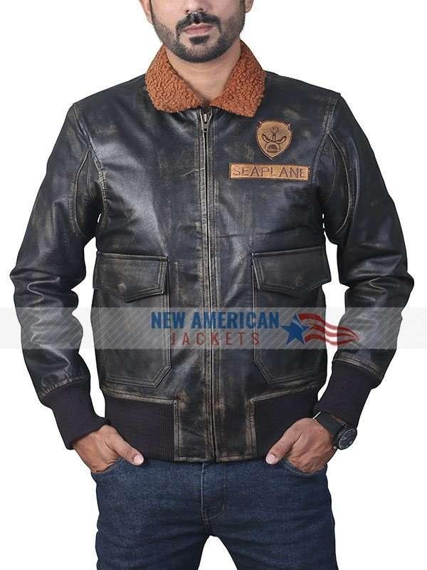 Nick Jonas Jumanji Welcome to the Jungle Leather Jacket
