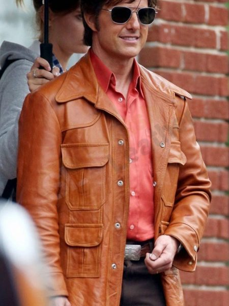 Tom Cruise American Made Barry Seal Jacket