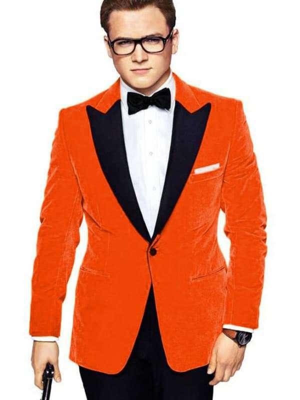 kingsman the golden circle taron egerton tuxedo coat