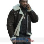 50 Cent Suede Leather Jacket