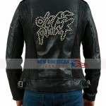 Black Daft Punk Electroma Leather Jacket