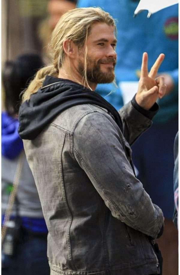 Chris Hemsworth Denim Jacket