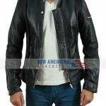 Daft Punk Electroma Black Leather Jacket