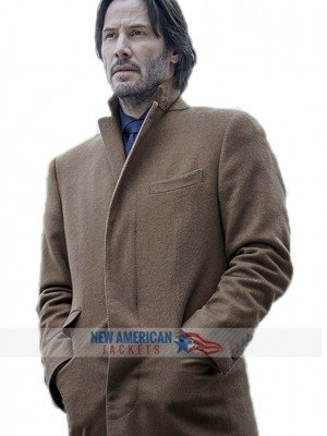 Siberia Keanu Reeves trench Coat