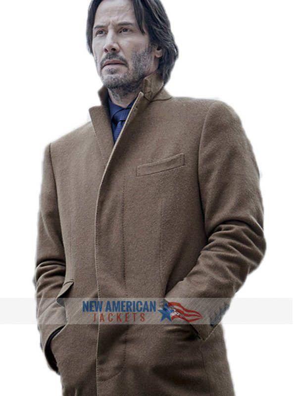 Keanu Reeves Coat