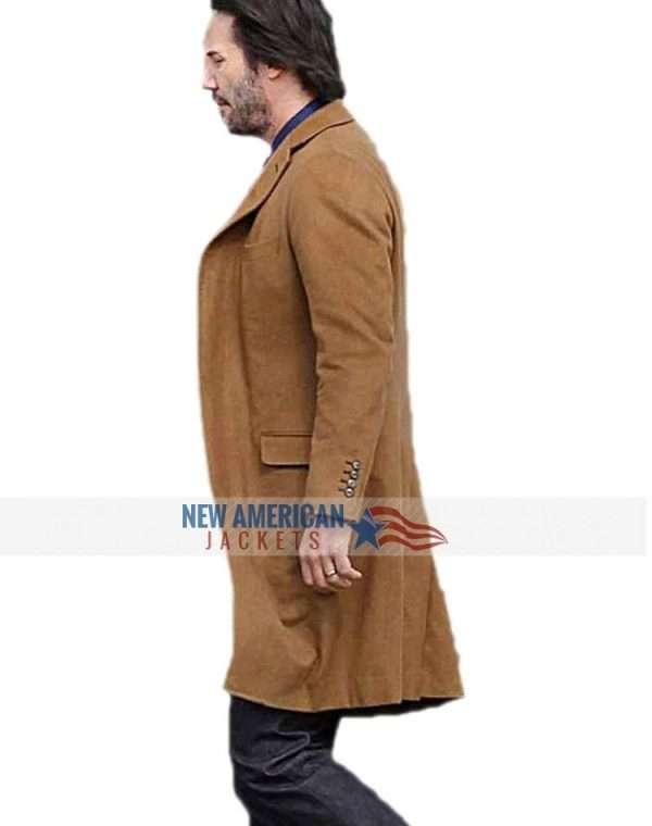 Keanu Reeves Siberia Coat
