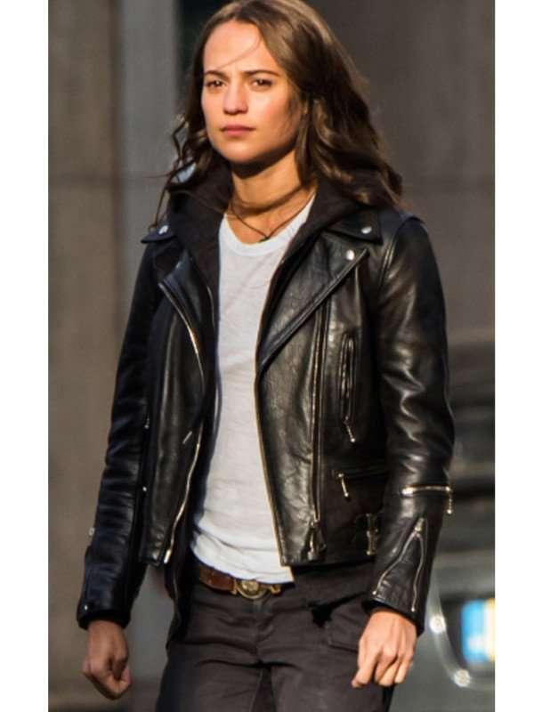 Lara Croft Tomb Raider Leather Jacket