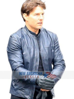 Tom Cruise Mission Impossible 6 Blue Jacket