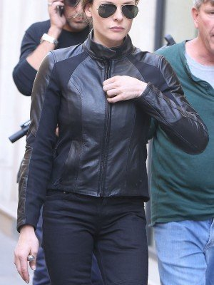 Rebecca Ferguson Mission Impossible 6 Leather Jacket