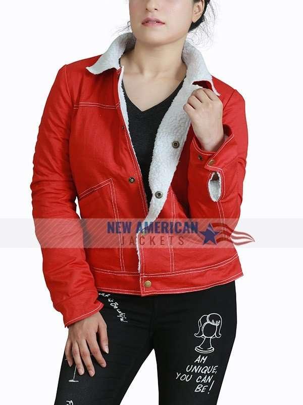 Nancy Wheeler Cotton Jacket