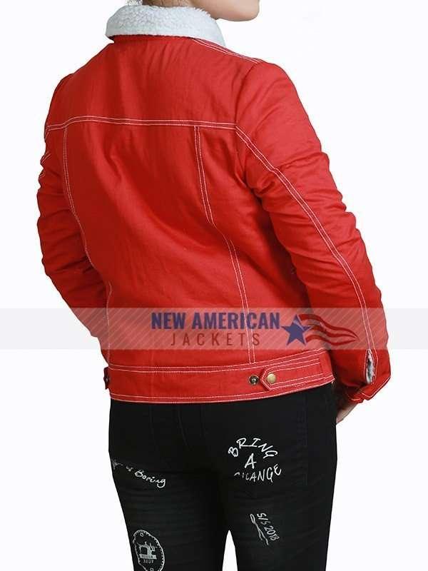 Nancy Wheeler Stranger Things Red Jacket