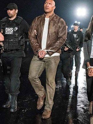 Dwayne Johnson Leather Jacket