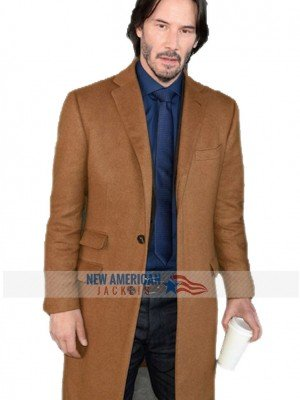 Siberia Keanu Reeves Coat