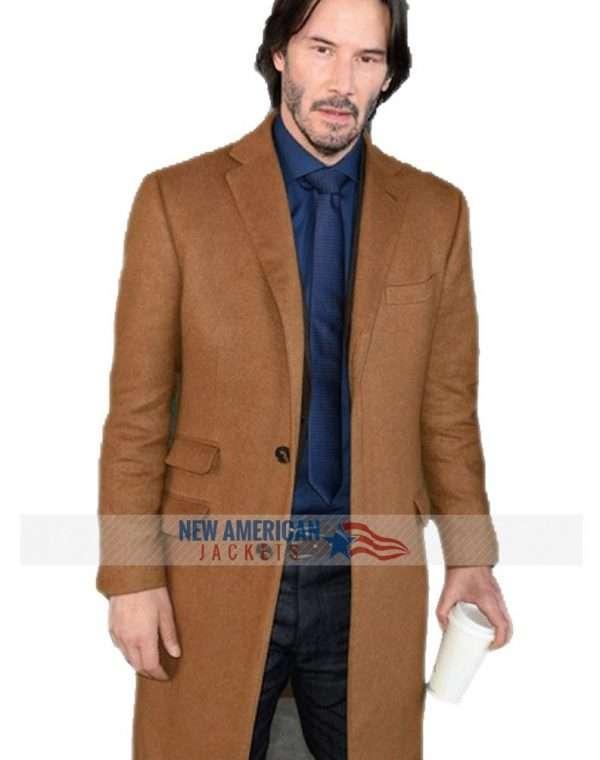 Siberia Keanu Reeves Coat