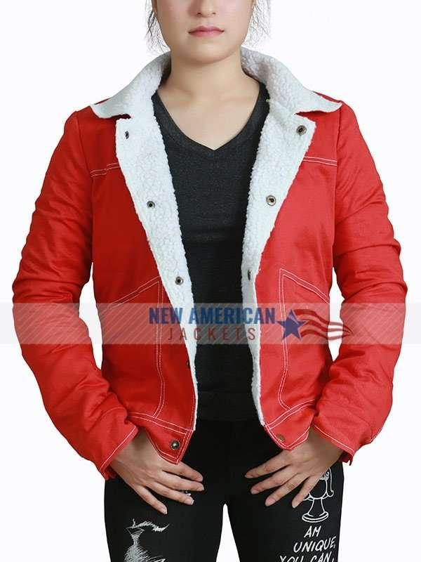 Stranger Things Fur Collar Jacket