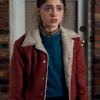 Red Nancy Wheeler Jacket