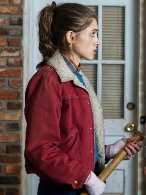 Nancy Wheeler Shearling Jacket