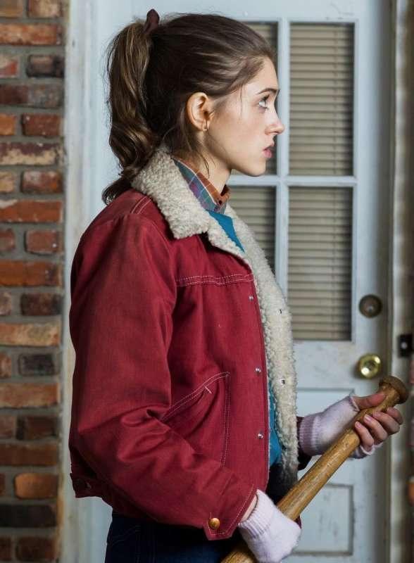Stranger Things Nancy Wheeler Red Jacket New American