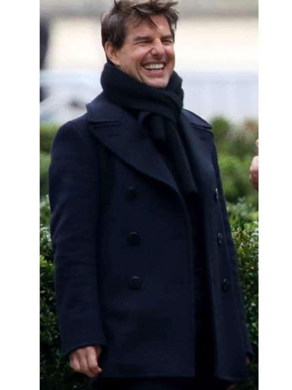 Tom Cruise Black Coat