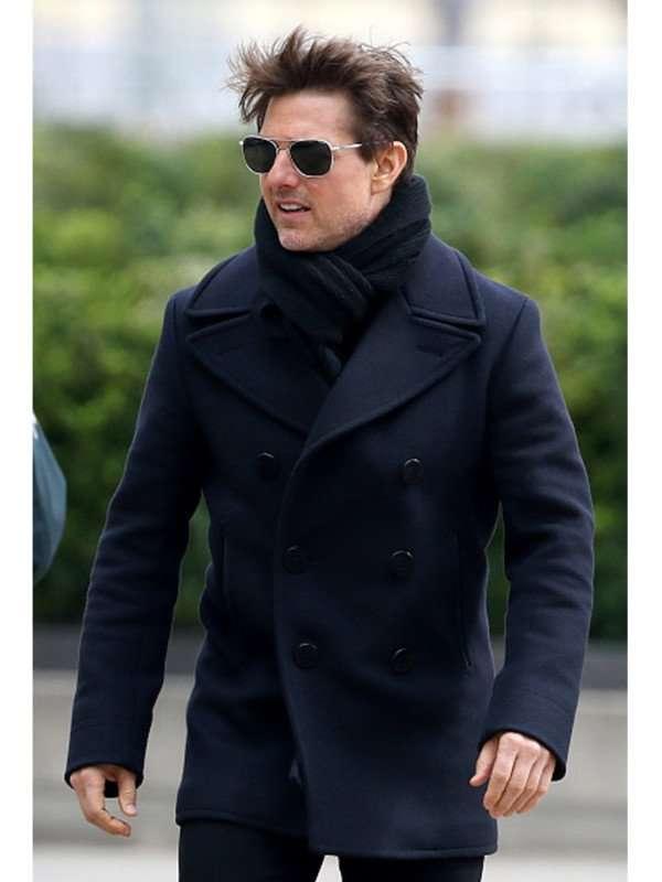 Tom Cruise Wool Coat