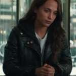 Tomb Raider Alicia Vikander Leather Jacket