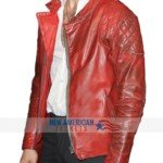 premiere show ezra millar red leather jacket