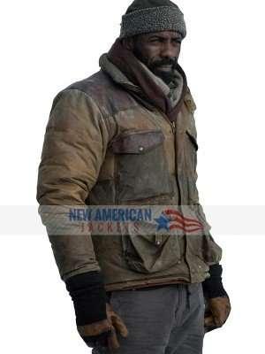The Mountain Between Us Idris Elba Leather Jacket