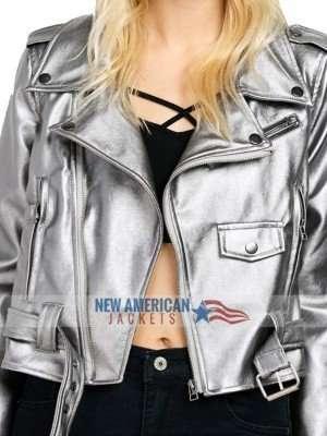 Anna Kendrick Leather Jacket