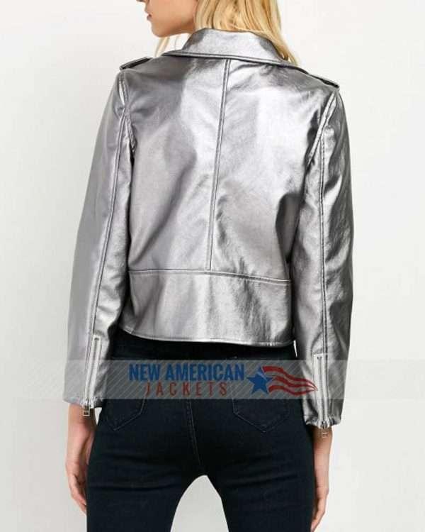 Anna Kendrick Silver Jacket