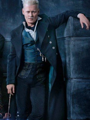 Johnny Depp Fantastic Beasts Trench Coat