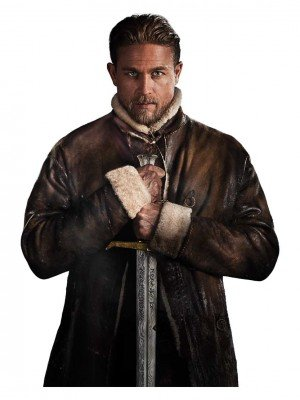 King Arthur Legends Of Sword Shearling Coat