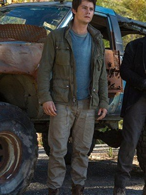 Maze Runner Green Jacket