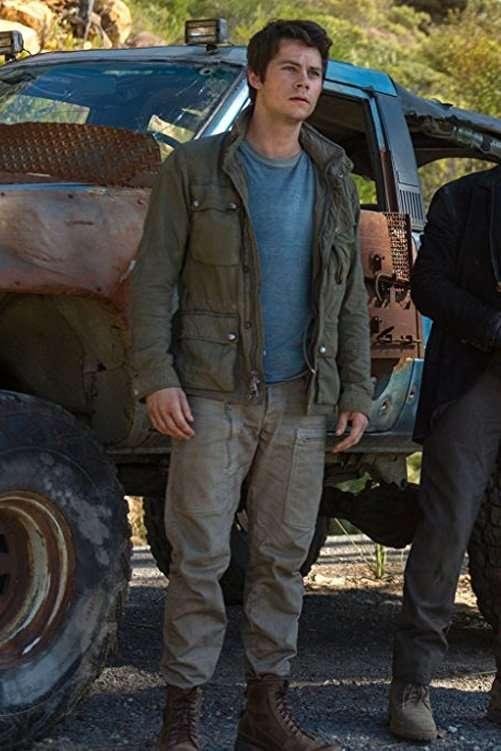 Maze Runner Dylan O Brien Green Jacket