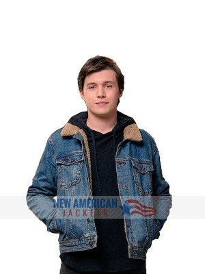 Love Simon Nick Robinson Jacket