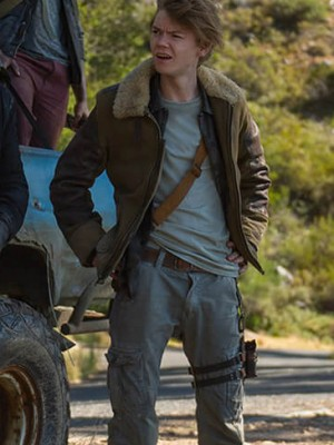 Maze Runner Brown Jacket