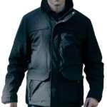 The Punisher Black Cotton Jacket
