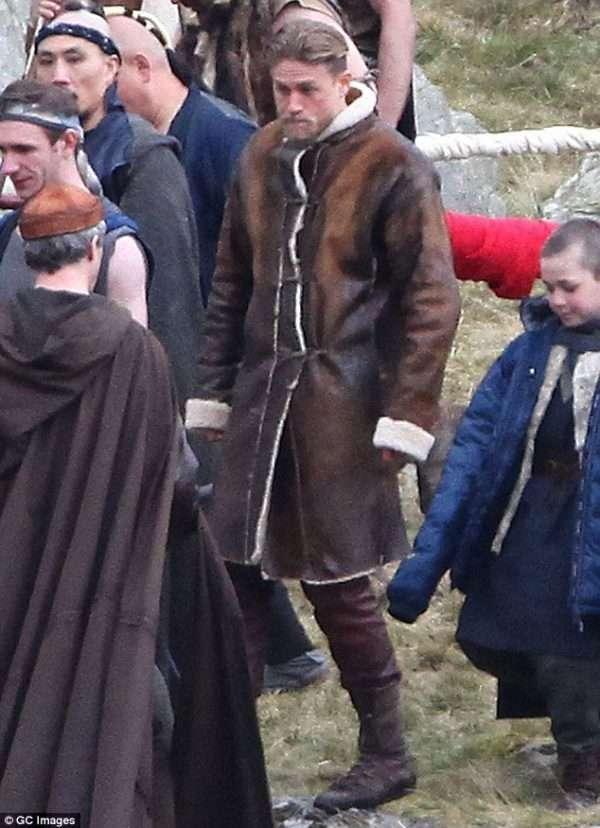 King Arthur Shearling Coat