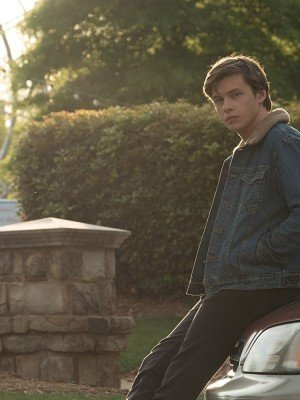 nick robinson denim fur jacket