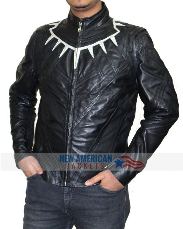 Avengers Infinity War Black Panther Leather Jacket