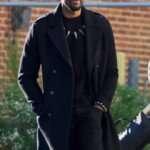Black Panther Wool Coat