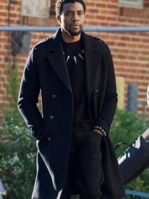 Black Panther Chadwick Boseman Coat